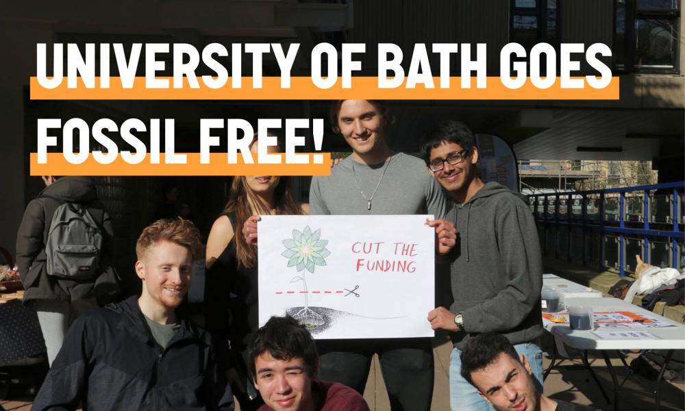 Bath Divests from Fossil Fuels