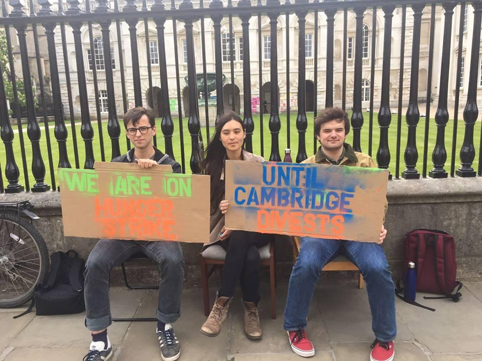 Cambridge hunger strikers