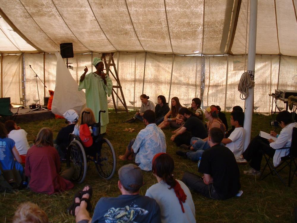 Workshop at Summer Festival