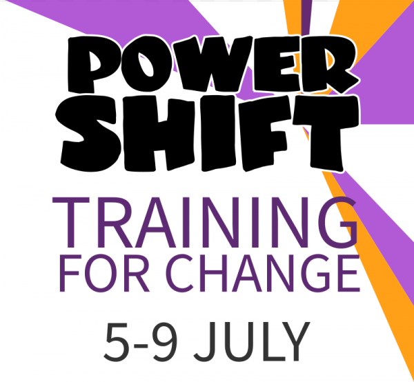 Power Shift Training for Change 5-9 July
