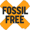 Fossil Free campaign logo